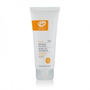 Green People - Edelweis Sun Lotion SPF15 Met Bruinversneller 100ml