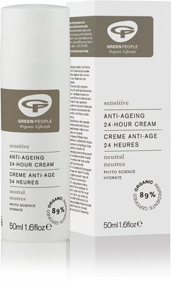 Green People - Neutrale Parfumvrije Anti-Ageing 24 Hour Cream