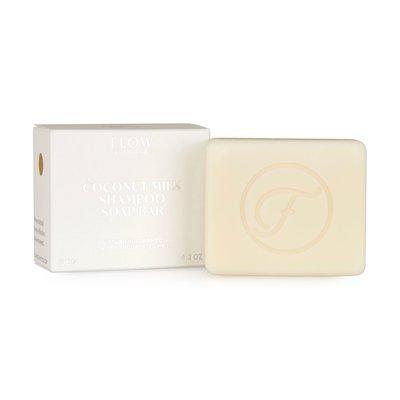 Flow Cosmetics - Shampoo Bar: Coconut Milk Droog En Grof Haar