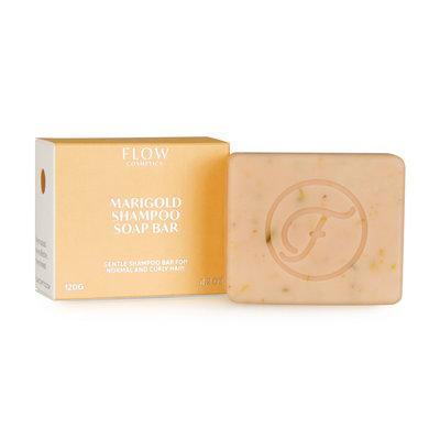 Flow Cosmetics - Shampoo Bar: Marigold Normaal & Krullend Haar