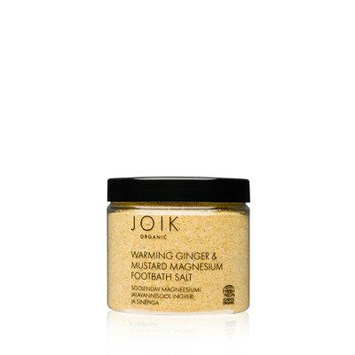 Joik - Voetenbad: Warming Ginger & Mustard Magnesium
