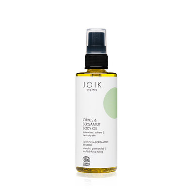 Joik - Citrus & Bergamot Body Oil