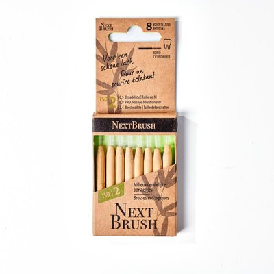 NextBrush - Bamboe Interdentale Ragers ISO 2