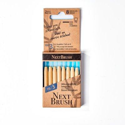 NextBrush - Bamboe Interdentale Ragers ISO 3
