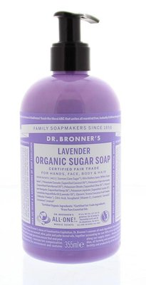Dr. Bronner's - Organic Sugar Hand & Body Soap: Lavender 355 ml