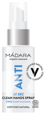 Mádara - Anti 20 SEC Clean Hands Spray