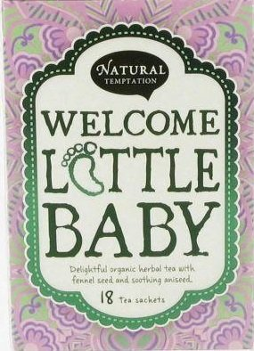 Natural Temptation - Biologische Thee: Welcome Little Baby