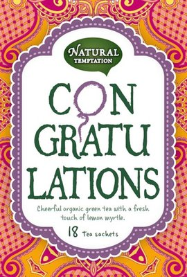 Natural Temptation - Biologische Thee: Congratulations