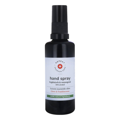 Repeat - Desinfecterende Handspray: Clove & Frankincense 50 ml