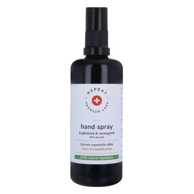 Repeat - Desinfecterende Handspray: Clove & Frankincense 100 ml