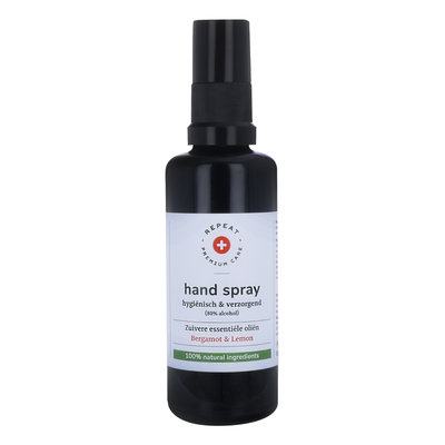 Repeat - Desinfecterende Handspray: Bergamot & Lemon 50 ml