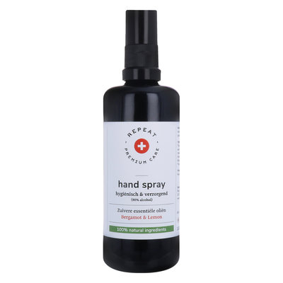 Repeat - Desinfecterende Handspray: Bergamot & Lemon 100 ml