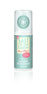 Salt Of The Earth - Melon & Cucumber Scented Natural Deodorant Spray 100 ml