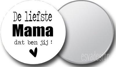 Spiegeltje - De Liefste Mama Dat Ben Jij (Hartje)