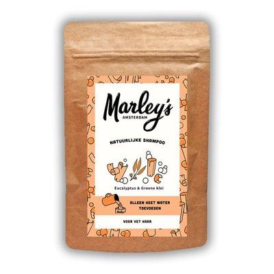 Marley's Amsterdam - Shampoovlokken: Eucalyptus & Groene Klei