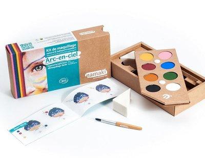 Namaki Cosmetics - Schminkset 8 Kleuren: Rainbow