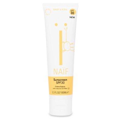 Naïf Baby Care - Natuurlijke zonnebrandcrème Baby & Kind SPF 30