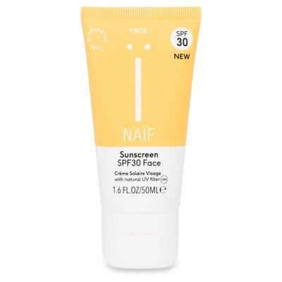 Naïf - Natuurlijke Zonnebrandcrème Gezicht SPF 30