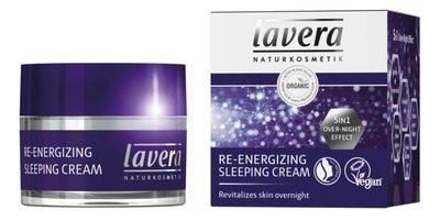 Lavera - Nachtcrème: Sleeping Cream Re-energizing