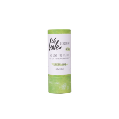 We Love The Planet - Natuurlijke Deodorant Stick: Luscious Lime