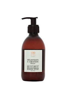 100BON - Liquid Soap: Heliotrope Et Amande Douce