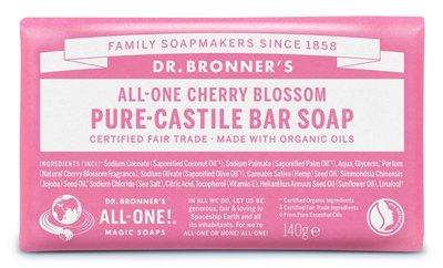 Dr. Bronner's - Pure Castile Soap Bar: Cherry Blossom
