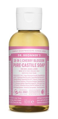 Dr. Bronner's - Magic Pure Castile Soap: Cherry Blossom 59 ml, 240 ml, 475 ml of 945 ml Vanaf: