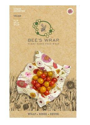 Bee's Wrap - VEGAN 3-Pack Assortiment Meadow Magic