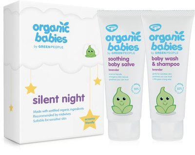 Green People - Organic Babies Cadeauset: Silent Night