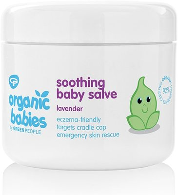 Green People - Organic Babies: Soothing Baby Salve Lavender