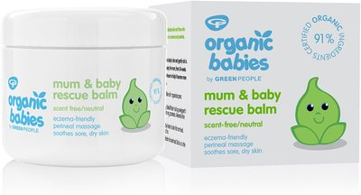 Green People - Organic Babies: Mum & Baby Rescue Balm Scent Free