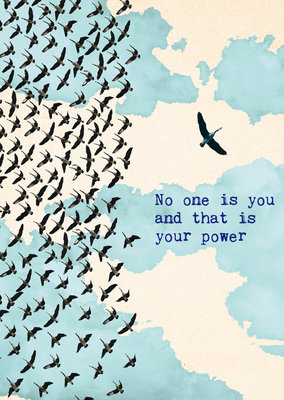 ZintenZ - Kaart: No One Is You..........