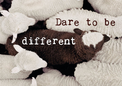 ZintenZ - Kaart: Dare To Be Different