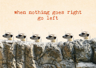 ZintenZ - Kaart: When Nothing Goes Right Go Left