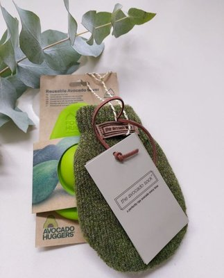 Cadeauset - The Avocado Sock Olive & Avocado Hugger