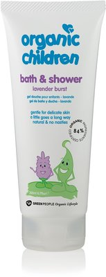 Green People Organic Children - Bath & Shower Lavender Burst