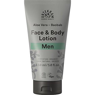 Urtekram - Men Face & Bodylotion Baobab & Aloë Vera