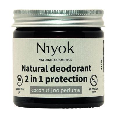 Niyok - Deodorant Cream Coconut: Parfumvrij