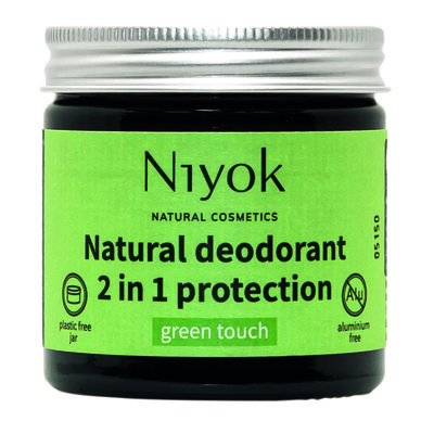 Niyok - Deodorant Cream: Green Touch