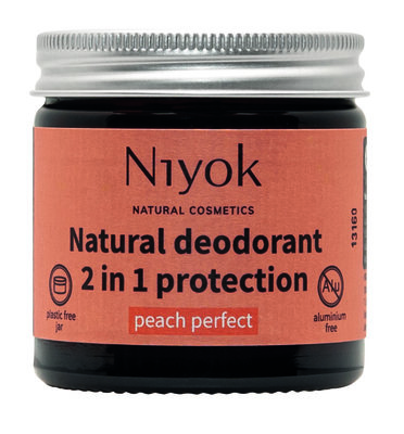 Niyok - Deodorant Cream: Peach Perfect