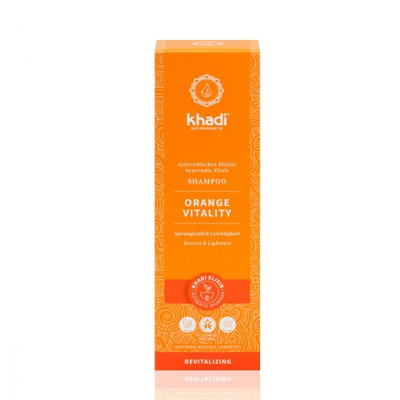 Khadi - Orange Vitality Shampoo 200 ml