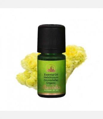 Alambika - Etherische olie: Helichrysum (Immortella) / Strobloem Biologisch Gecertificeerd 3 ml (tht: 01-2021)