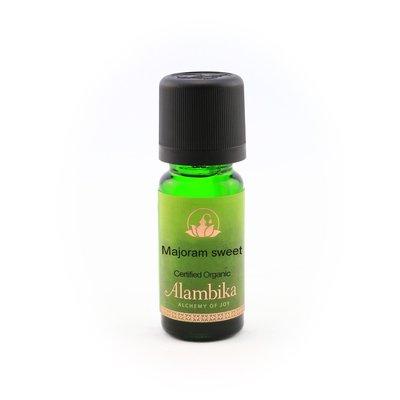 Alambika - Etherische olie: Marjoram Sweet / Marjolein Biologisch Gecertificeerd (THT: 10-2021)