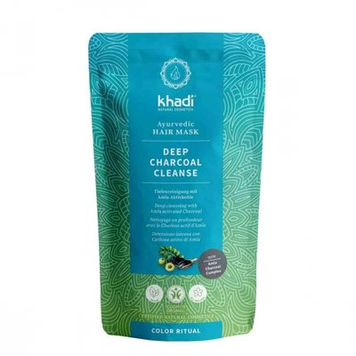 Khadi - Hair Mask: Deep Charcoal Cleanse