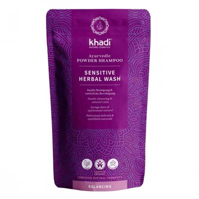 Khadi - Powder Shampoo: Sensitive Herbal Wash