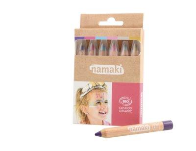 Namaki Cosmetics - Schmink Potloden 6 Kleuren: Magical Worlds