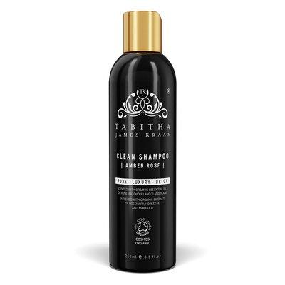 Tabitha James Kraan - Clean Shampoo Amber Rose 250 ml