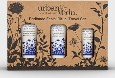 Urban Veda - Radiance Facial Ritual Travel Set