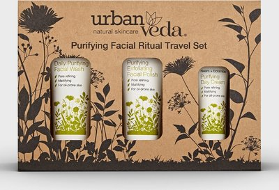 Urban Veda - Purifying Facial Ritual Travel Set