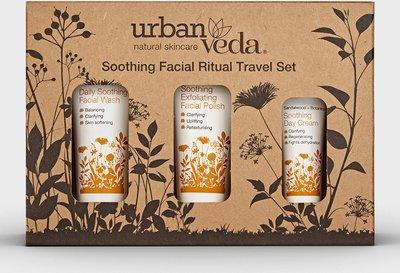 Urban Veda - Soothing Facial Ritual Travel Set